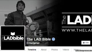 Lad Bible's facebook page