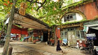 The Balthazar Building, Bank Street, central Yangon