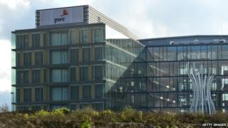 PwC building in Luxembourg