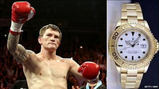 Hatton and watch