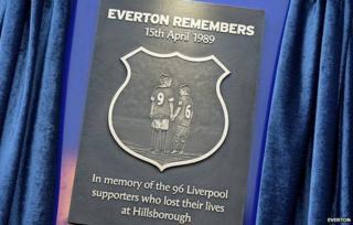 Hillsborough plaque