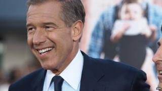 NBC anchor Brian Williams