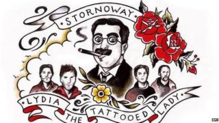 Song cover for Stornoway's Lydia the Tattooed Lady