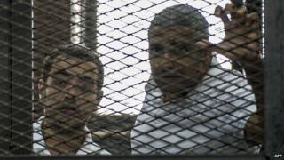 Mohamed Fahmy and Baher Mohamed, June 2014