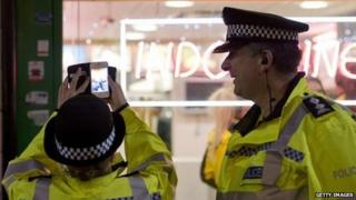 Police in Leicester
