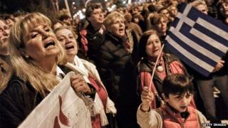 Greek demo