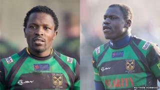 Benon Kizza and Philip Pariyo played for the Uganda Sevens team