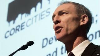 Jim Murphy was addressing the Core Cities UK Devolution Summit at Glasgow Royal Concert Hall