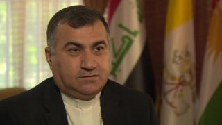 The Archbishop of Erbil, Bashar Warda