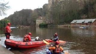 Search on River Wear, Durham