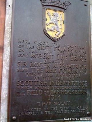 Bruce plaque