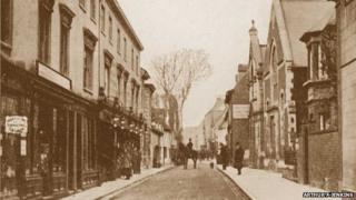St Mary's Street, Wallingford, circa 1905