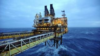 BP ETAP (Eastern Trough Area Project) oil platform in the North Sea