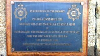 Memorial to PC George Russell