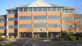 AA offices, Newcastle