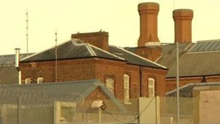 External shot of Nottingham Prison