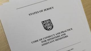 Jersey Council of Ministers' code of conduct