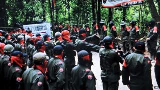 ELN fighters, 7 January 2015