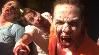 Zombies closeup
