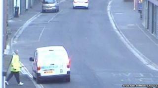 Bridgwater break-in, CCTV