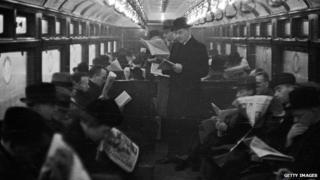 Commuters in 1930