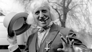 Jimmy Savile with his OBE in 1972