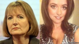 Harriet Harman and Karen Danczuk composite photo