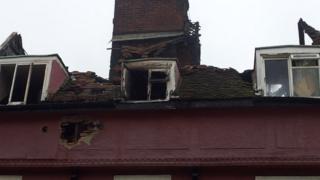 Fire damage in Braintree