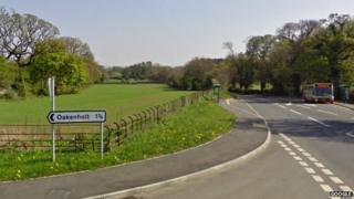 Oakenholt Lane and Mold Road