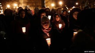 Vigil in Washington DC