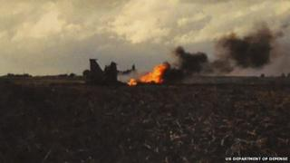 F-15 crash, Weston Hills, Lincolnshire