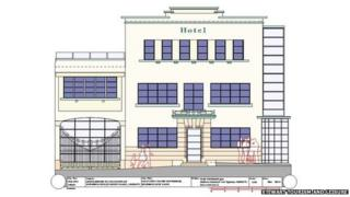 Plan for hotel