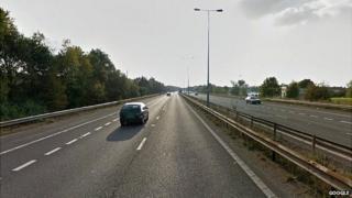 M65 in Lancashire
