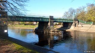 Scarborough bridge in York