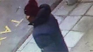 CCTV image of the suspected gunman issued by Copenhagen police (14 Feb)