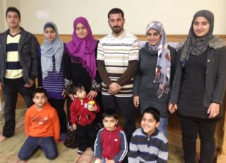 The Alzouabi family live in New Jersey after fleeing the war in Syria