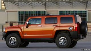 This undated photo provided by Hummer shows the 2008 HUMMER H3 Alpha