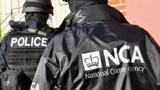The National Crime Agency officers