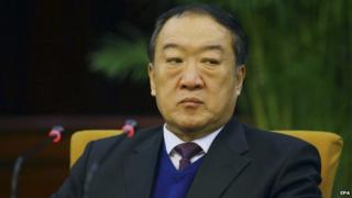 Chinese authorities say former senior official Su Rong accepted bribes