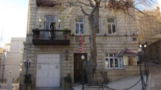 Swiss embassy in Baku. Image taken from embassy site
