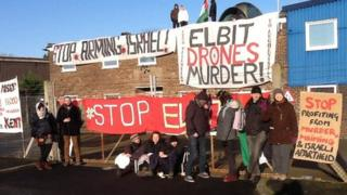 Broadstairs rooftop protest