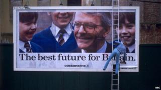 1992 Conservative election poster