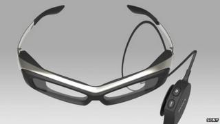 Sony smart glasses