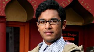 Himesh Patel who plays Tamwar in Eastenders
