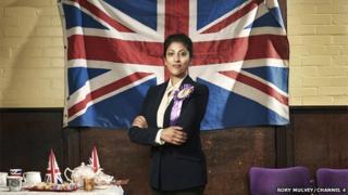 Actress Priyanga Burford in UKIP: The First 100 Days