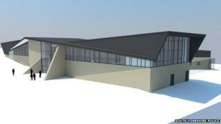 The new custody building
