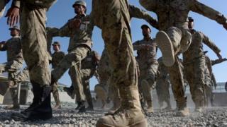 Afghan police, file image