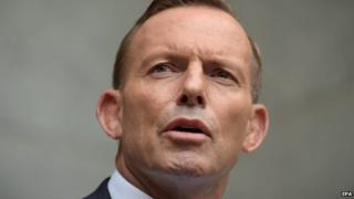 Australian Prime Minister Tony Abbott , pictured this month