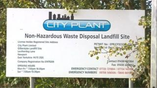 City Plant sign