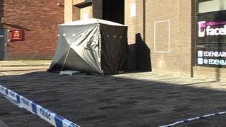 Murder scene, Bethlehem St, Grimsby